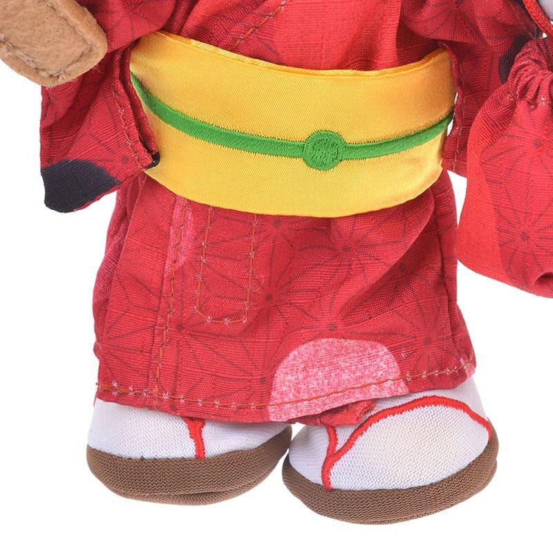 nuiMOs ぬいぐるみ専用コスチューム ミニー柄 浴衣セット 水玉