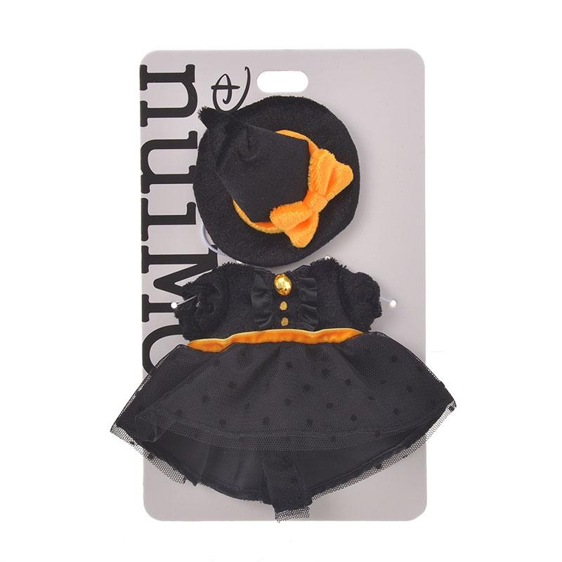nuiMOs ぬいぐるみ専用コスチューム ワンピース ハロウィーン オレンジ