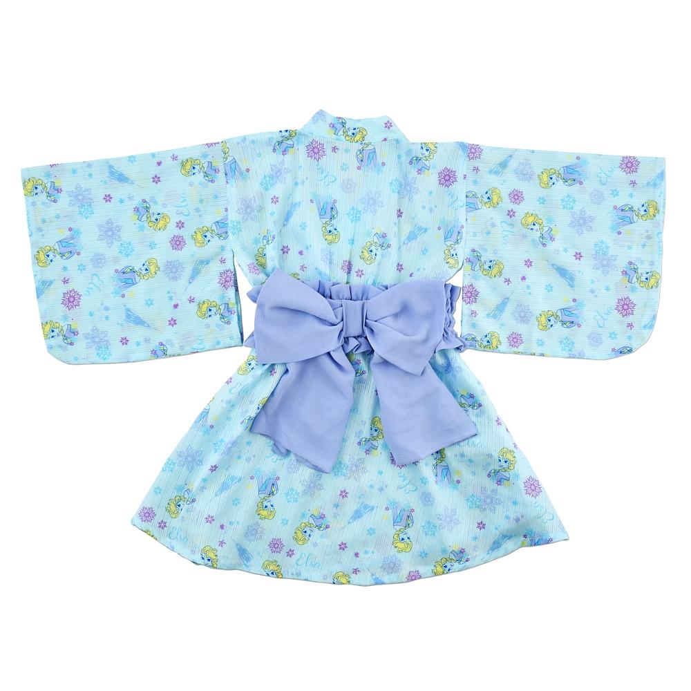 エルサ 浴衣(110) ブルー