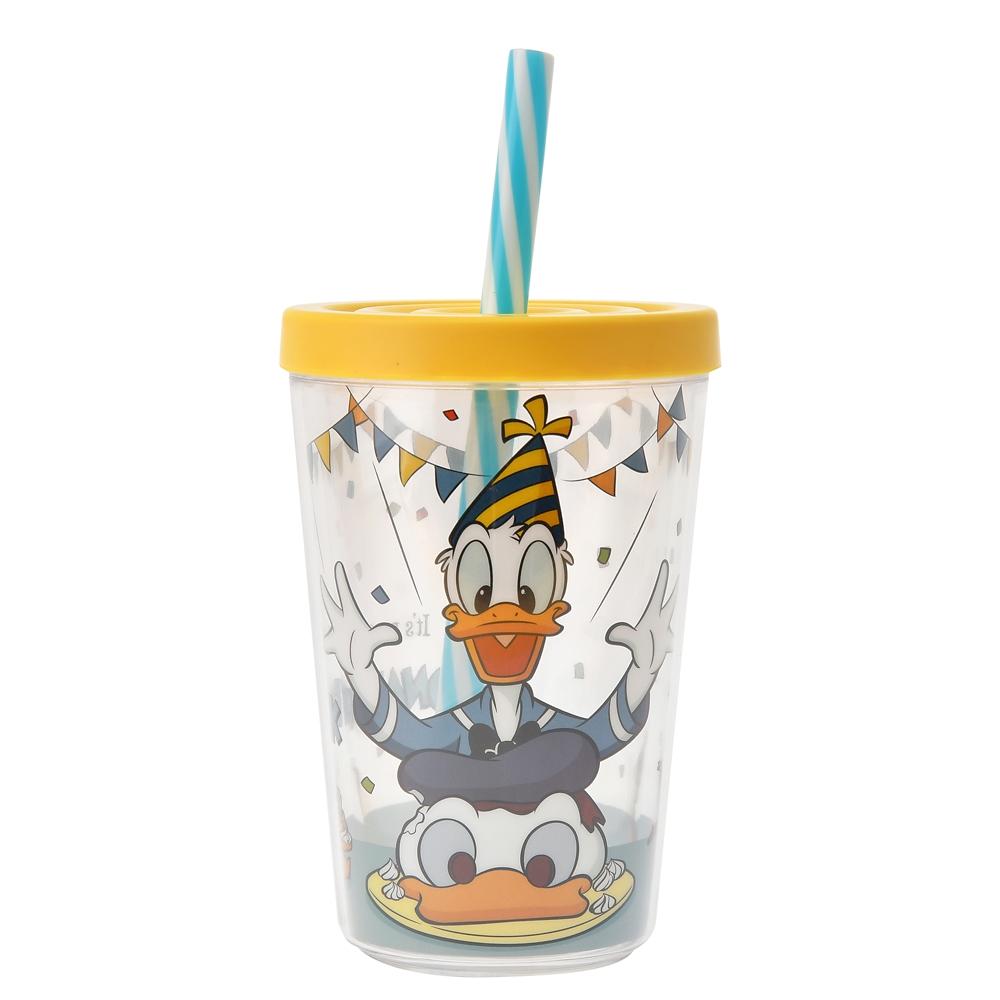 ドナルド、チップ&デール タンブラー Donald Duck Birthday 2020