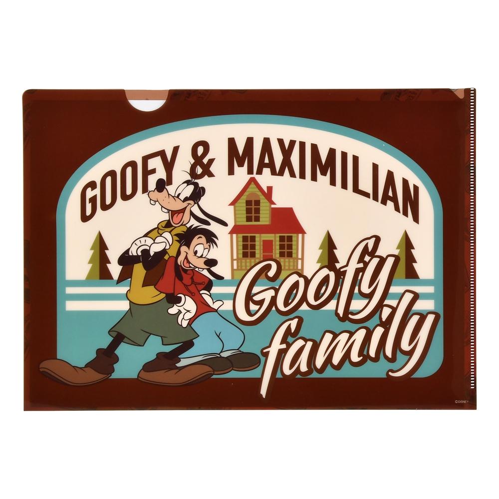 【アウトレット】グーフィー&マックス クリアファイル We love Goofy 2020