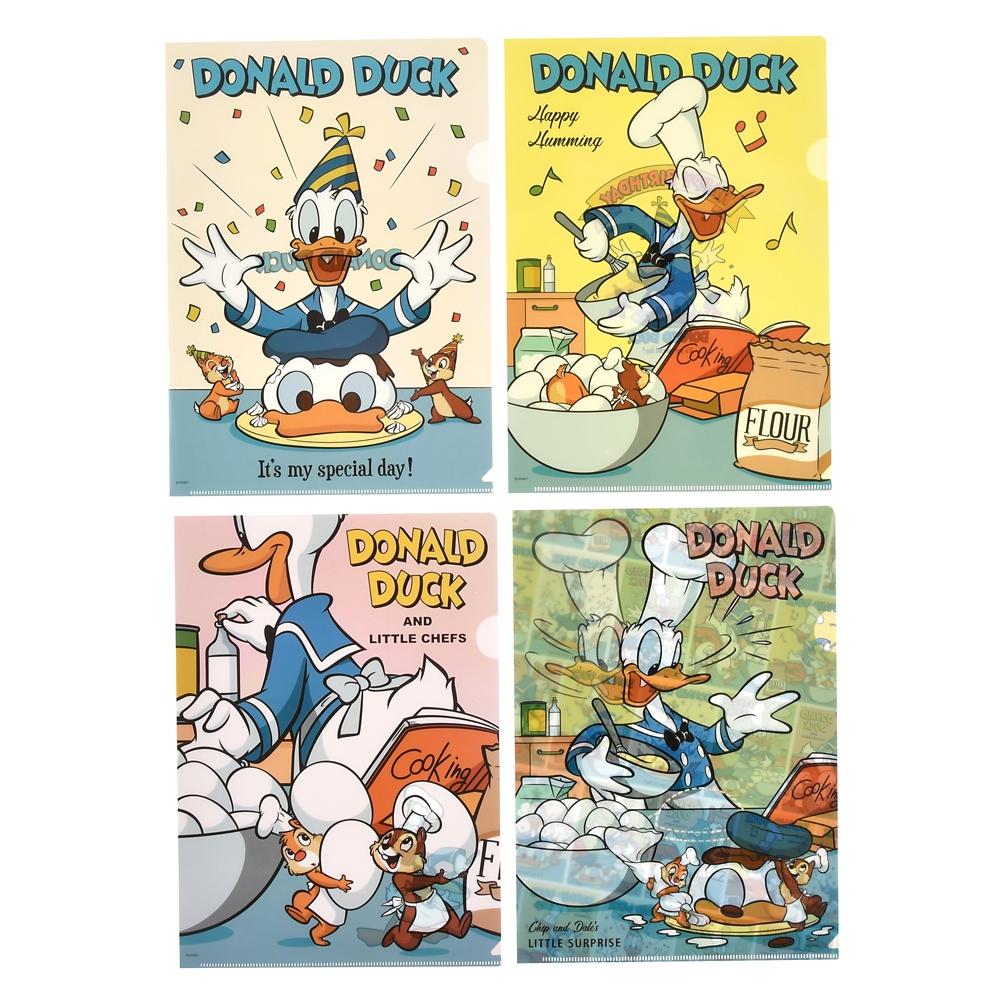 ドナルド、チップ&デール クリアファイル Donald Duck Birthday 2020
