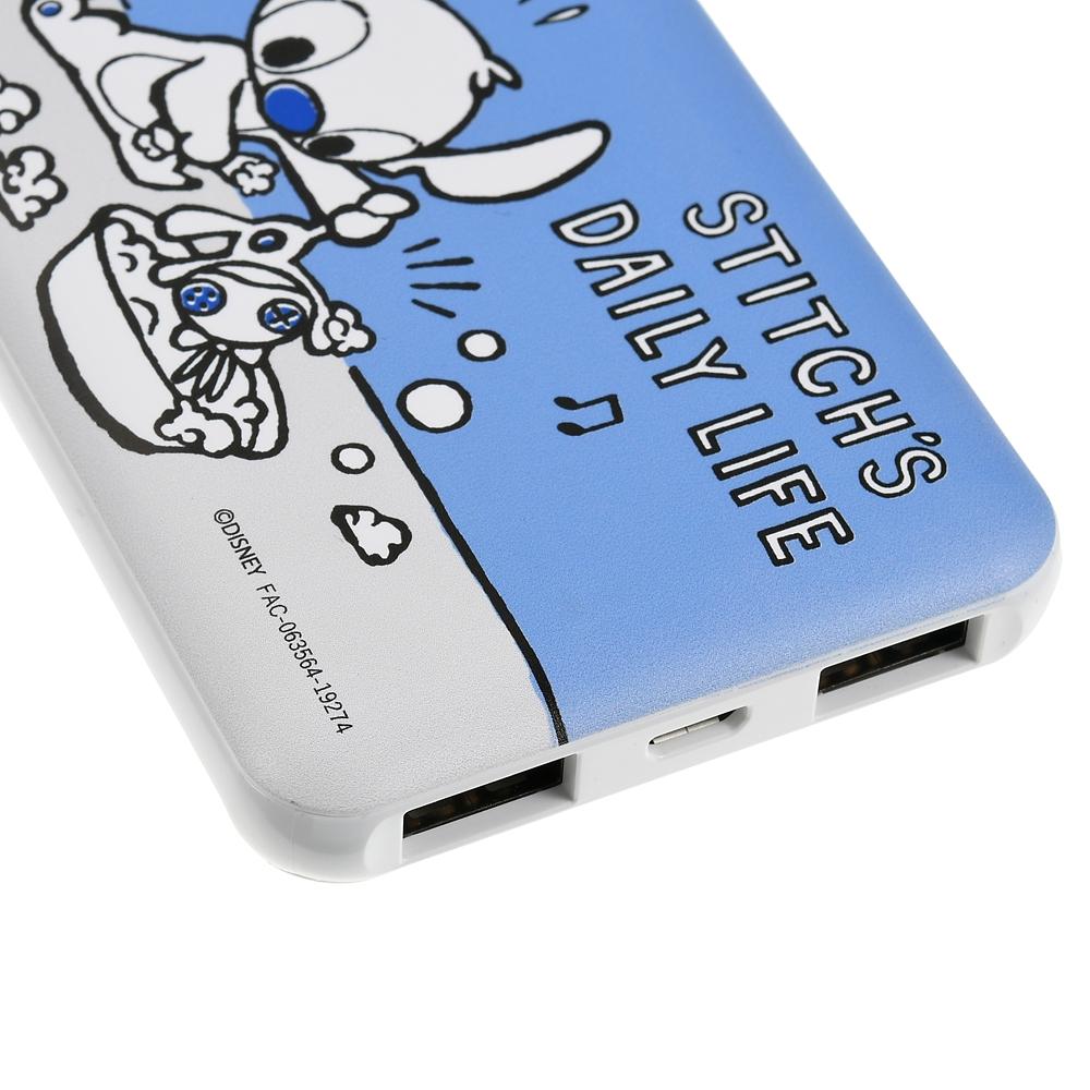 スティッチ&スクランプ モバイルバッテリーチャージャー Stitch Day 2020