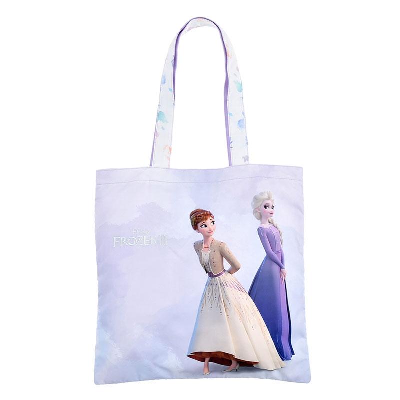 アナ&エルサ トートバッグ グラデーションリーフ アナと雪の女王2