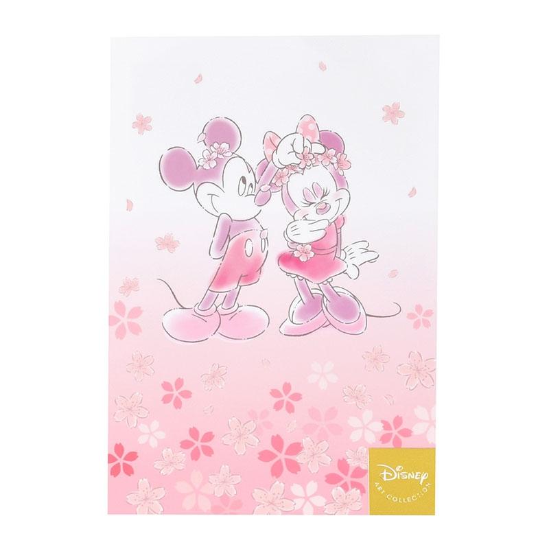 ミッキー&ミニー ポストカード サクラ