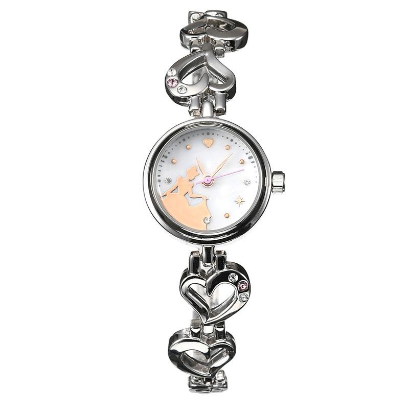 【送料無料】【J-AXIS】シンデレラ 腕時計・ウォッチ シルバー ディズニー・コレクション
