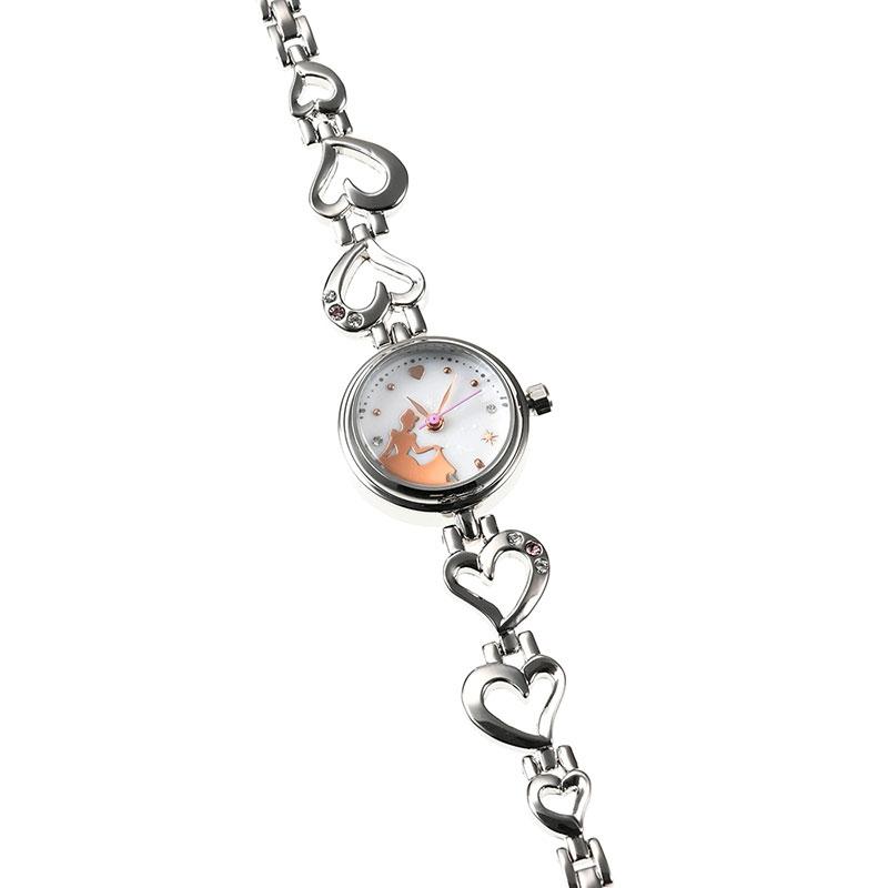 【J-AXIS】シンデレラ 腕時計・ウォッチ シルバー ディズニー・コレクション