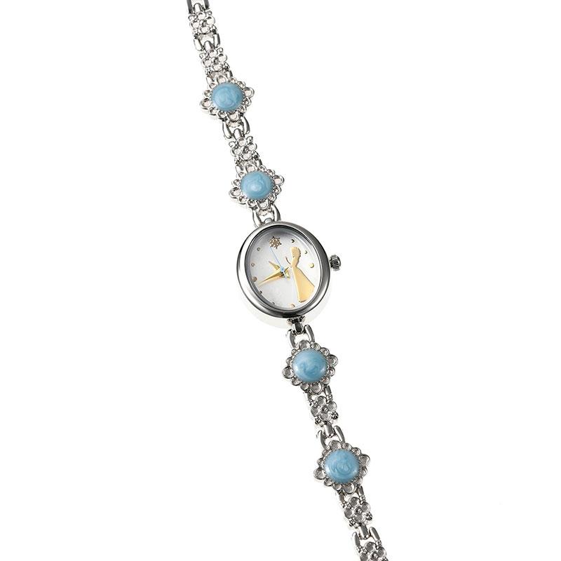 【J-AXIS】エルサ  腕時計・ウォッチ シルバー ブレスレットタイプ ディズニー・コレクション
