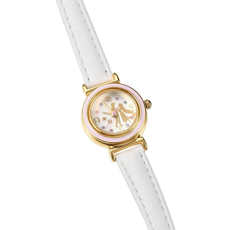 【J-AXIS】ラプンツェル&フリン・ライダー 腕時計・ウォッチ ホワイト チェンジリング ディズニー・コレクション