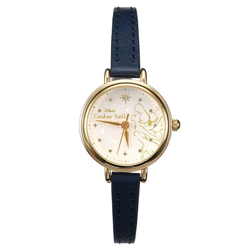 【J-AXIS】ティンカー・ベル 腕時計・ウォッチ ネイビー ディズニー・コレクション