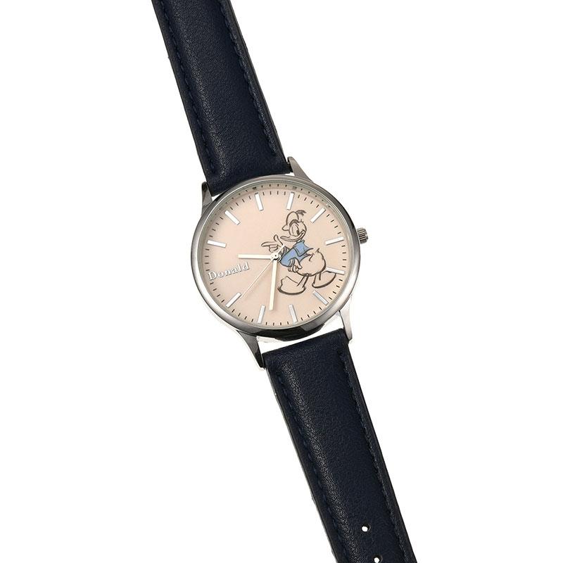 【J-AXIS】ドナルド 腕時計・ウォッチ ネイビー ディズニー・コレクション