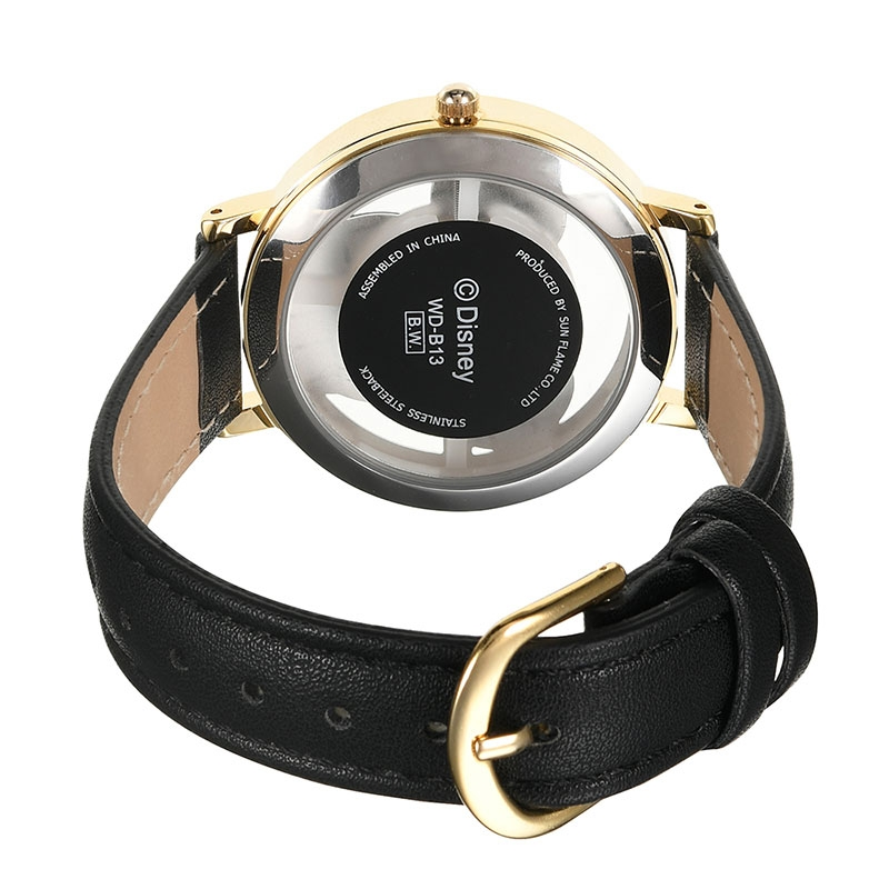 【J-AXIS】ミッキー 腕時計・ウォッチ ブラック スケルトン ディズニー・コレクション