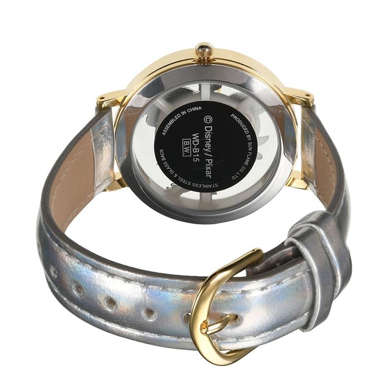 【J-AXIS】リトル・グリーン・メン/エイリアン  腕時計・ウォッチ シルバー スケルトン ディズニー・コレクション