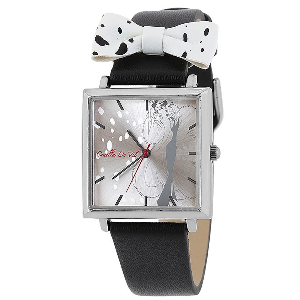 【送料無料】【J-AXIS】クルエラ 腕時計・ウォッチ 黒 101匹わんちゃん