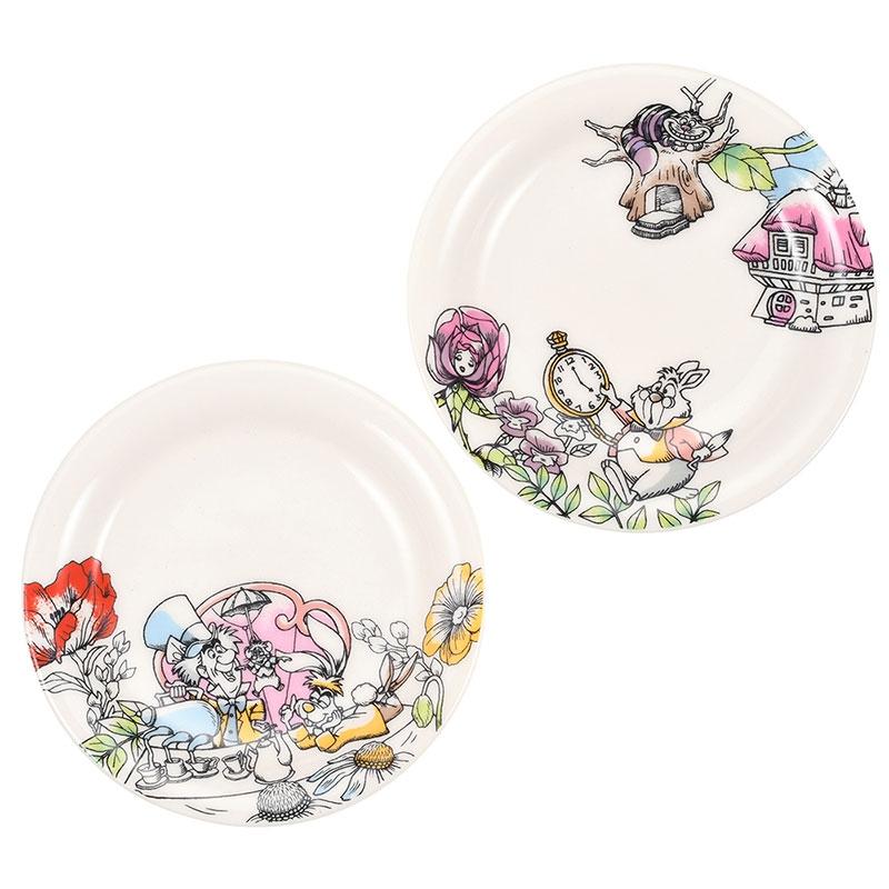 ふしぎの国のアリス 小皿5枚セット Fantasy