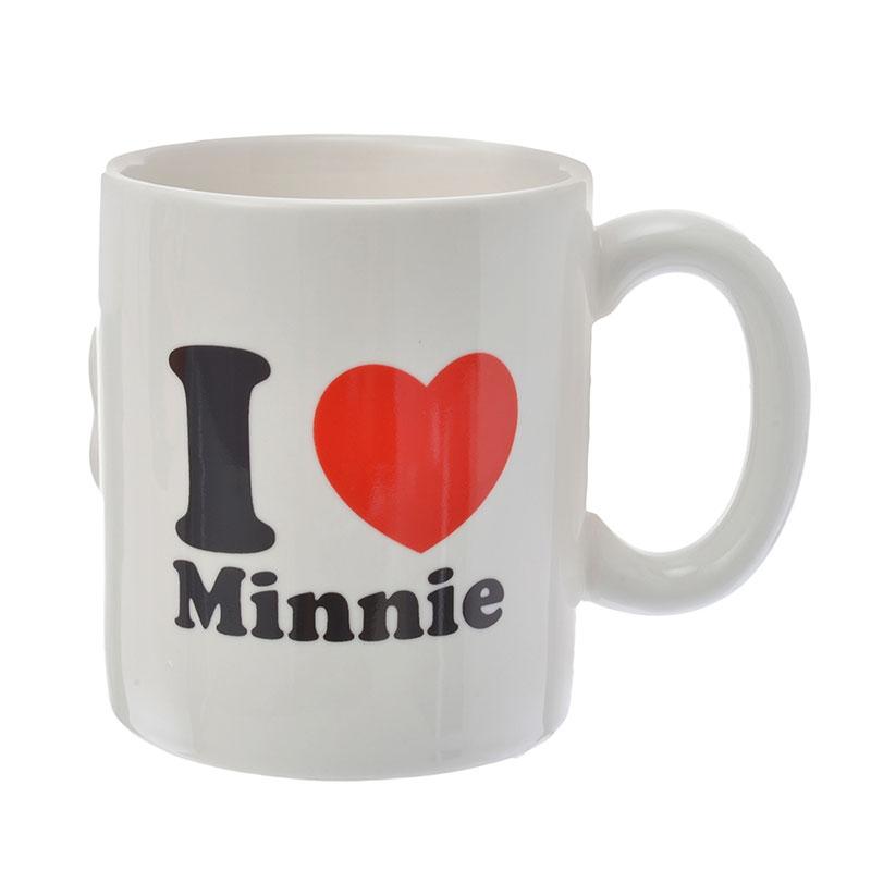 ミッキー&ミニー マグカップ ペア キス