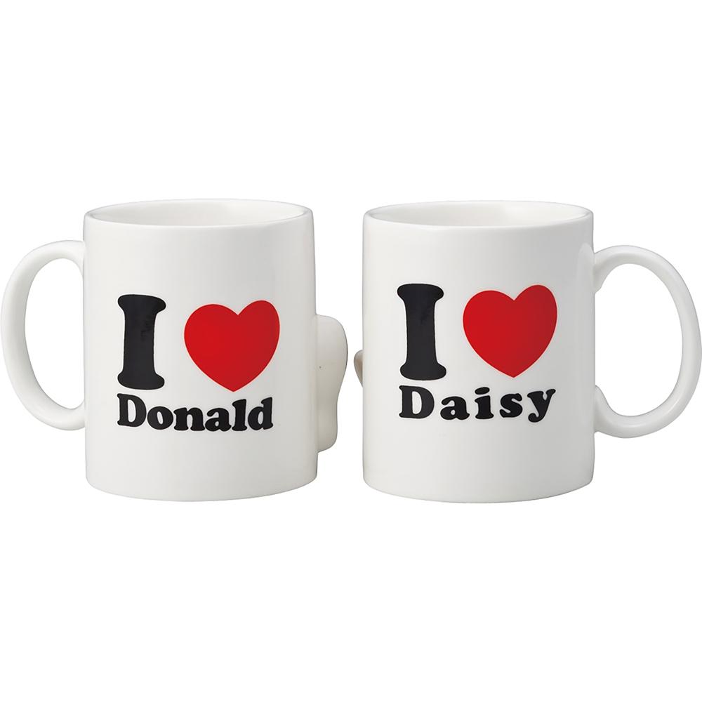 ドナルド&デイジー マグカップ ペア