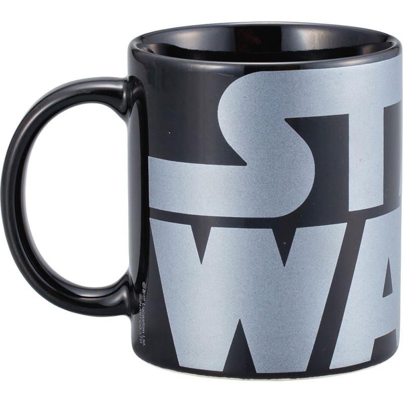マグカップ スター・ウォーズ ロゴ シルバー