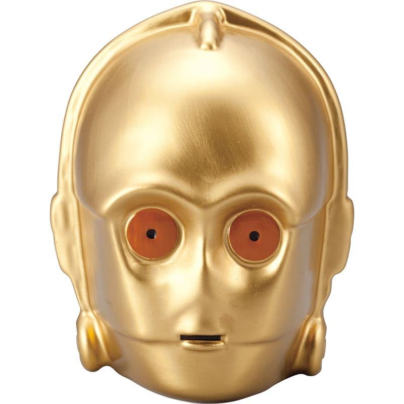 貯金箱 スター・ウォーズ C-3PO 3D