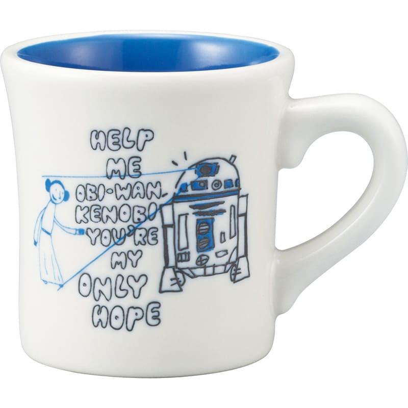 マグカップ スター・ウォーズ R2-D2 スケッチ