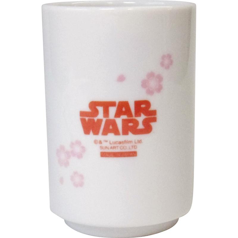 湯のみ スター・ウォーズ R2-D2&C-3PO 和柄