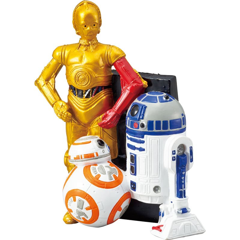 マルチスタンド スター・ウォーズ R2-D2、C-3PO、BB-8 3D