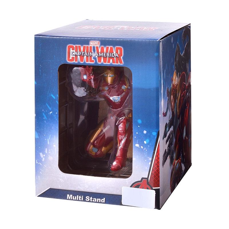 マーベル アイアンマン マルチスタンド 3D シビル・ウォー/キャプテン・アメリカ