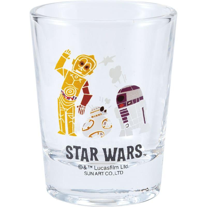 コップ ミニ スター・ウォーズ R2-D2、C-3PO、BB-8 デフォルメ