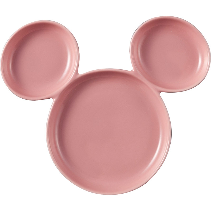 ミッキー プレート ピンク