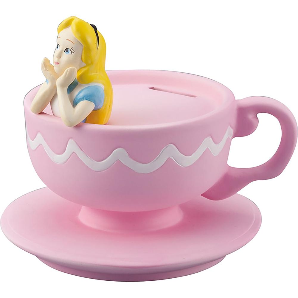 アリス 貯金箱 コーヒーカップ