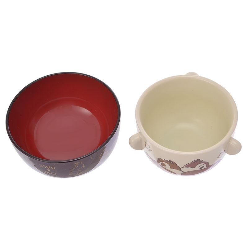 チップ&デール 汁椀茶碗セット ミニ まったり