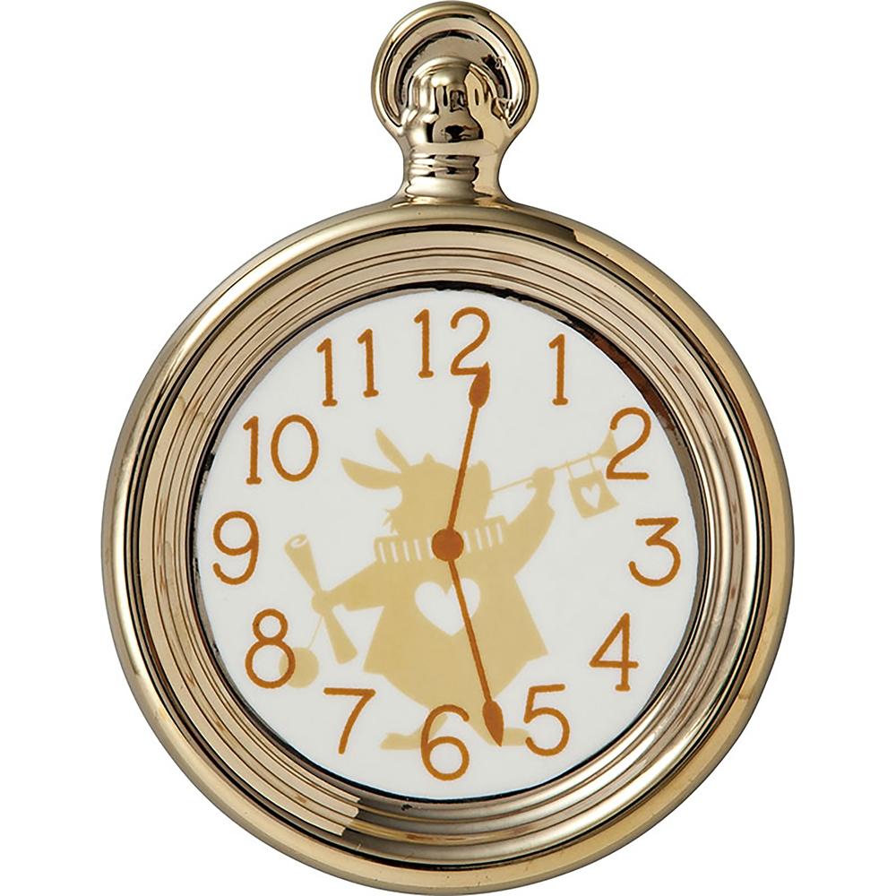 白うさぎ プレート 懐中時計