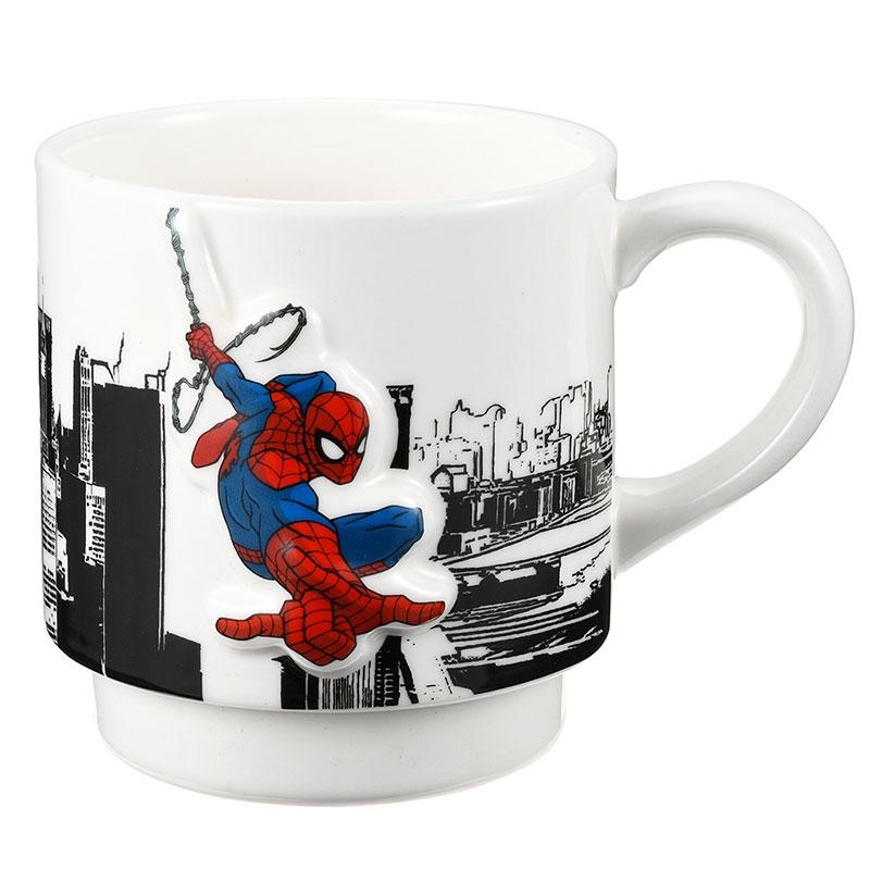 マーベル スパイダーマン マグカップ ビル街