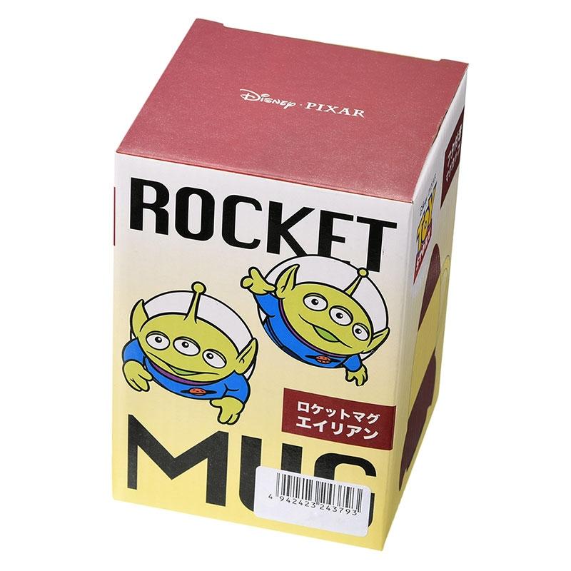 リトル・グリーン・メン/エイリアン マグカップ ロケット