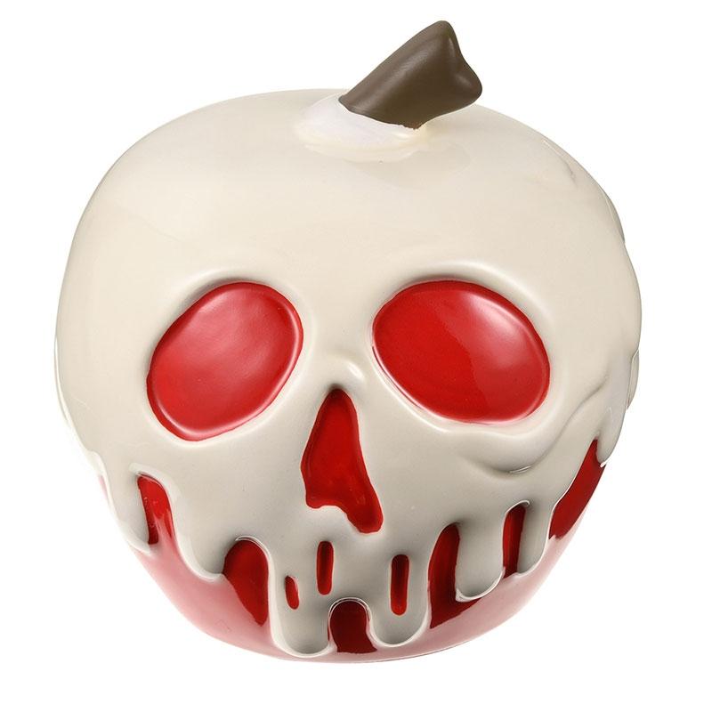 白雪姫 貯金箱 毒リンゴ 3D