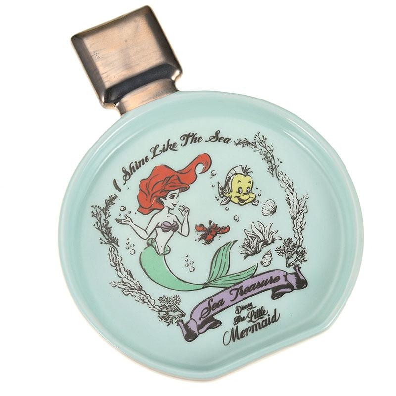 アリエル、フランダー、セバスチャン 小皿 パフューム型