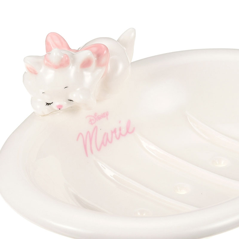マリー おしゃれキャット ソープディッシュ 寝そべり ホワイト