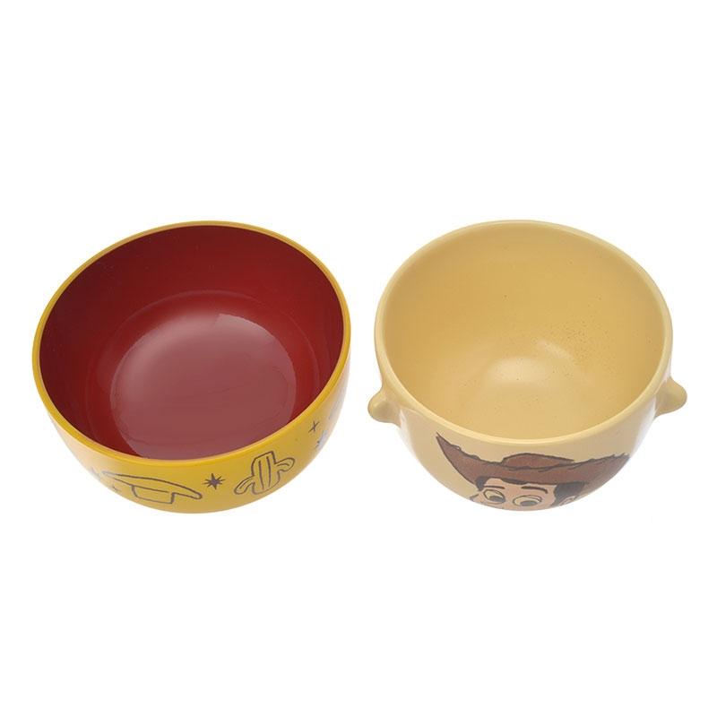ウッディ 汁椀茶碗セットミニ クレヨンタッチ