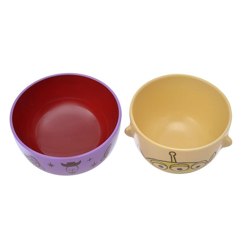 リトル・グリーン・メン/エイリアン 汁椀茶碗セットミニ クレヨンタッチ