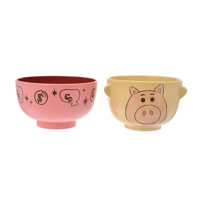 ハム 汁椀茶碗セットミニ クレヨンタッチ