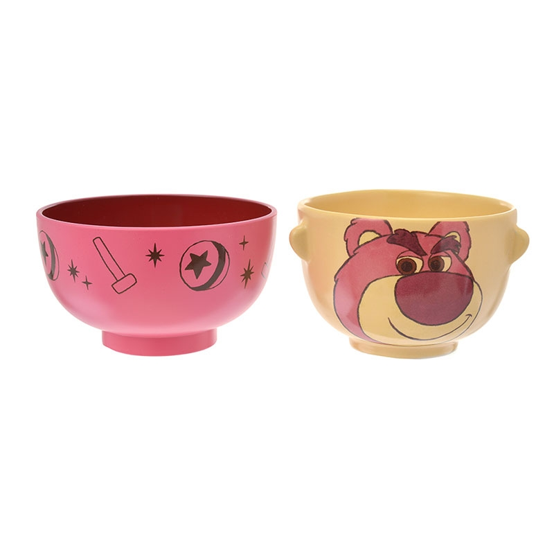 ロッツォ 汁椀茶碗セットミニ クレヨンタッチ