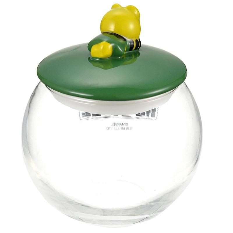 マーベル ロキ キャニスター ガラス 丸型 KAWAII