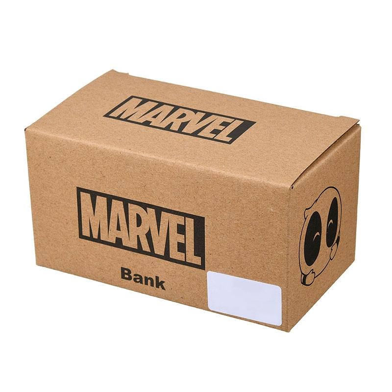 マーベル デッドプール 貯金箱 3D KAWAII