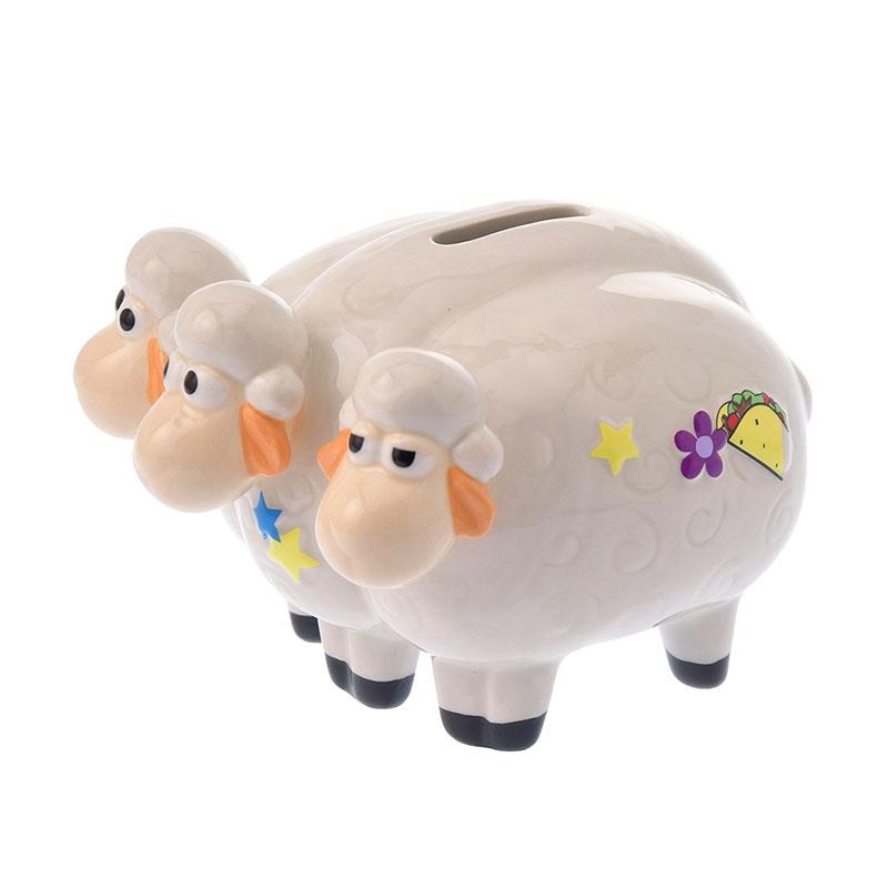ボー・ピープの羊 貯金箱 3D