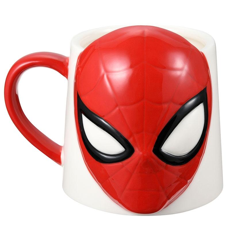 マーベル スパイダーマン マグカップ フェイス