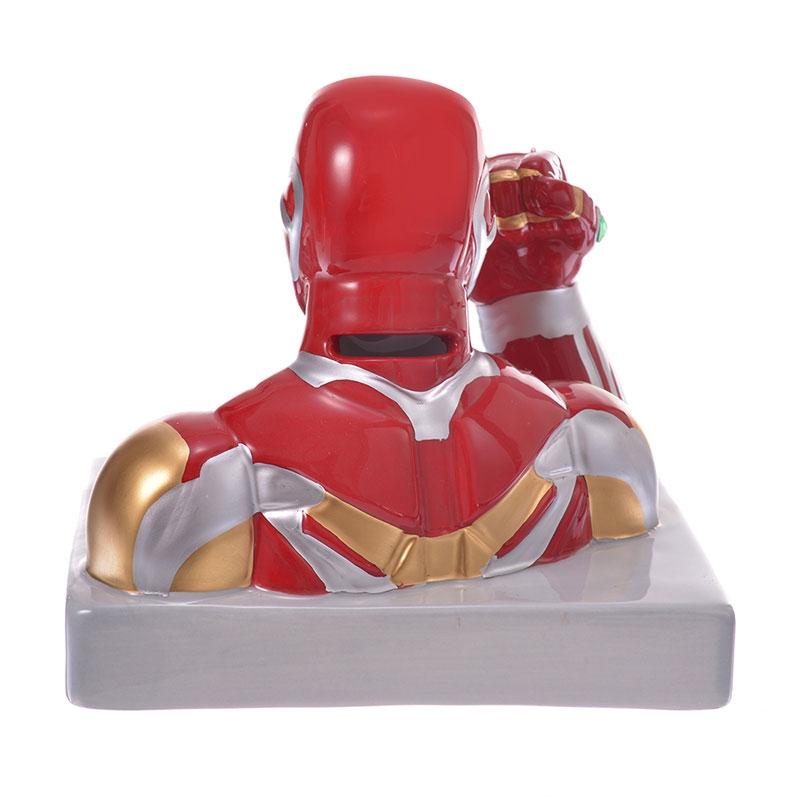 マーベル アイアンマン インフィニティ・ストーン 貯金箱 3D