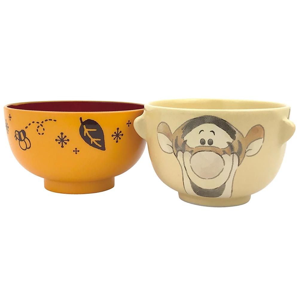 ティガー 茶碗・汁椀 セット ミニ クレヨンタッチ
