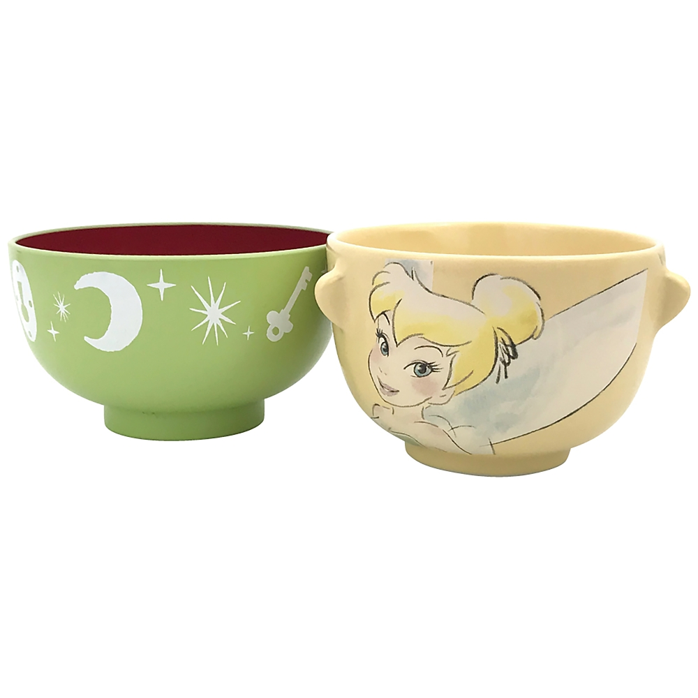 ティンカー・ベル 茶碗・汁椀 セット ミニ クレヨンタッチ