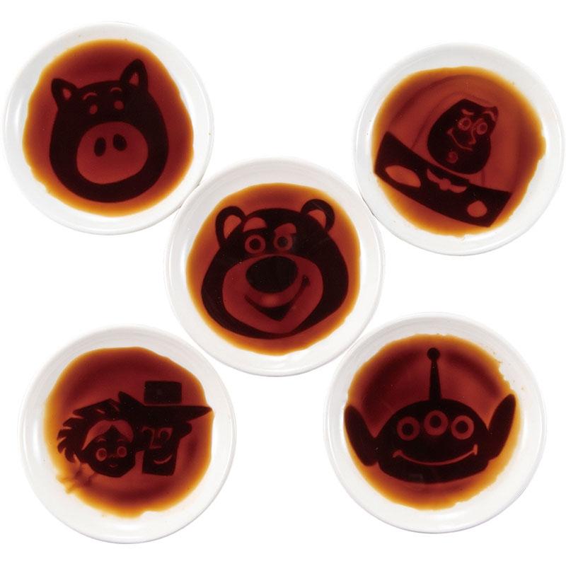 トイ・ストーリー 醤油皿 5枚セット