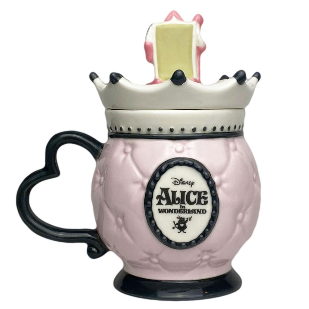 ハートの女王 マグカップ フタ付き ふしぎの国のアリス